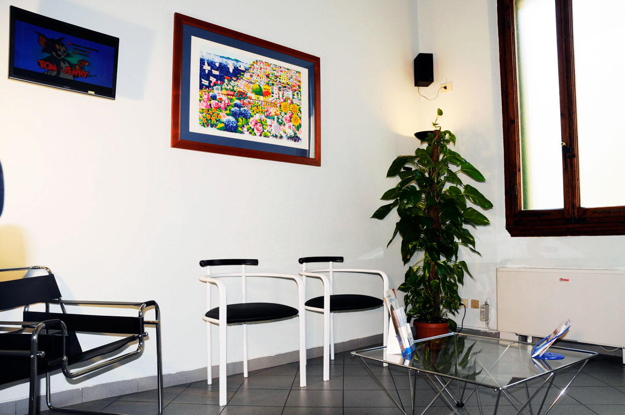 Studio Bruni  Sala d'attesa